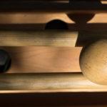 Billard à barres ou Roll'up - Touche du bois