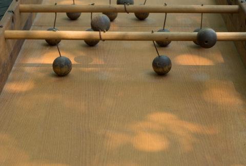 Boules suspendues - Touche du Bois